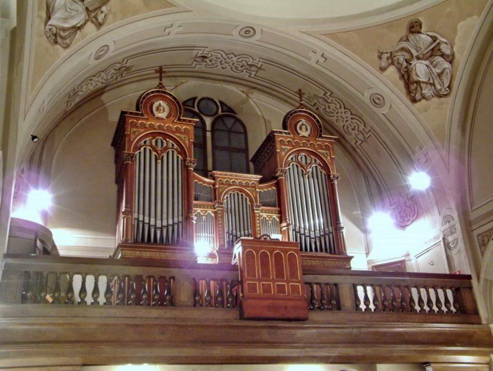 Giustinelli organo