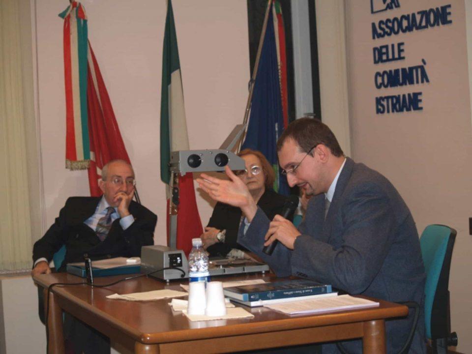 David Di Paoli Paulovich - Relatore presso l'Associazione delle Comunità Istriane