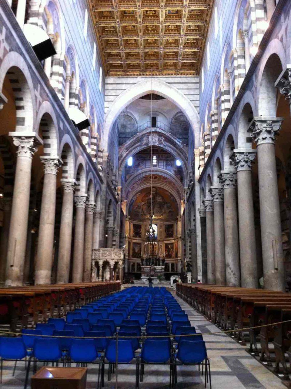 Interno della Cattedrale di Pisa