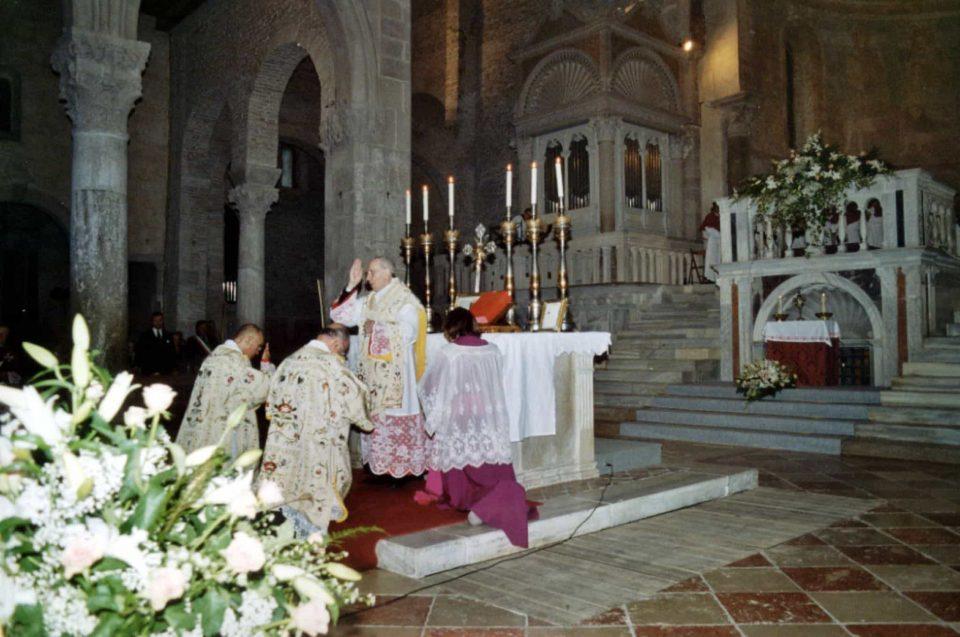 Basilica patriarcale di Aquileia - Santa Messa solenne nell'occasione della canonizzazione di San Pio da Pietralcina