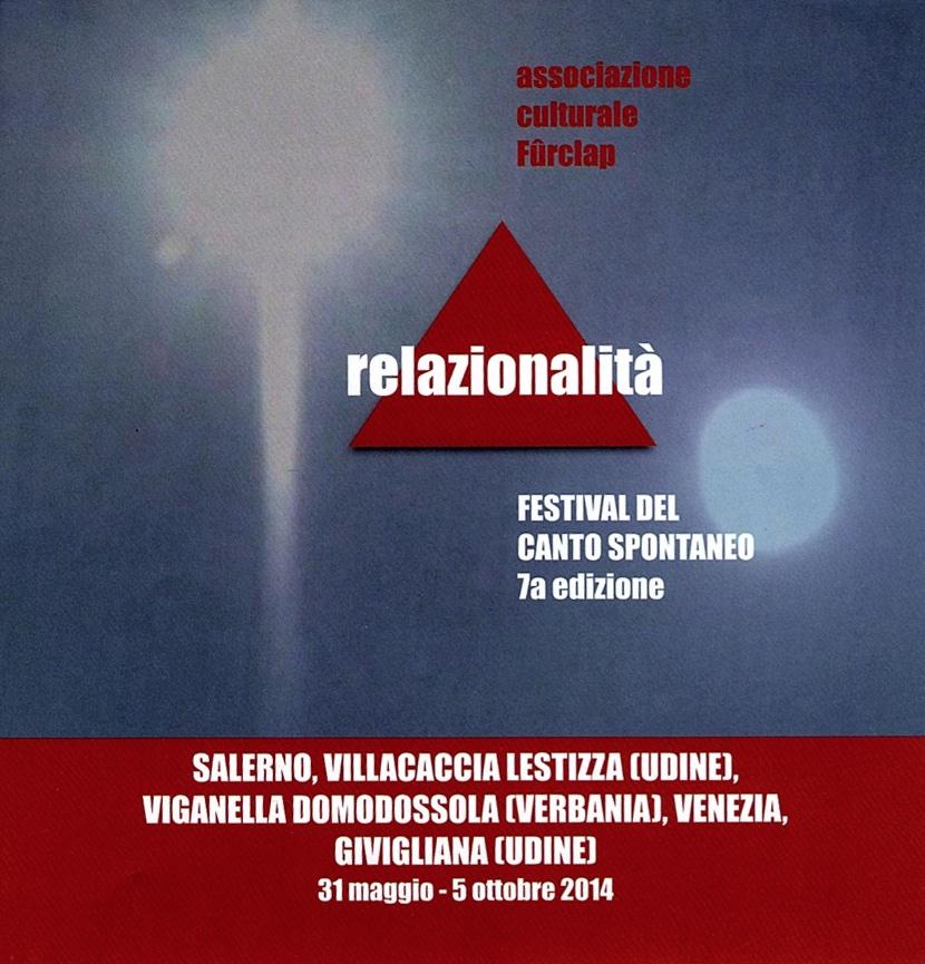 festival canto spontaneo